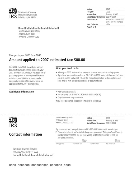 Irs Notices A Primer Rice Consulting Tax Accounting